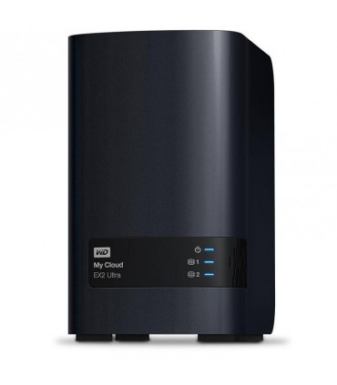 Disco Duro  WD 8TB NAS My Cloud EX2 Ultra Network Attached Storage WDBVBZ0080JCH-NESN