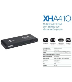 Extensor de video  solo receptor HDMI 100m sobre IP/TCP Cat5e/Cat6 UTP/STP 1080P Full HD LKV373-RX