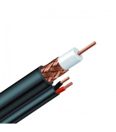 Cable Siamés por metro para exterior RG-59 – 90% Shield Nextlink