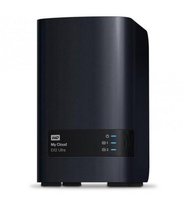 Disco Duro  WD 4TB NAS My Cloud EX2 Ultra Network Attached Storage WDBVBZ0040JCH-NESN