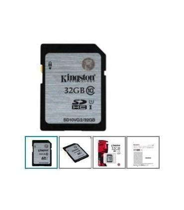 Tarjeta SD10VG2/32GB de memoria flash - 32 GB Kingston