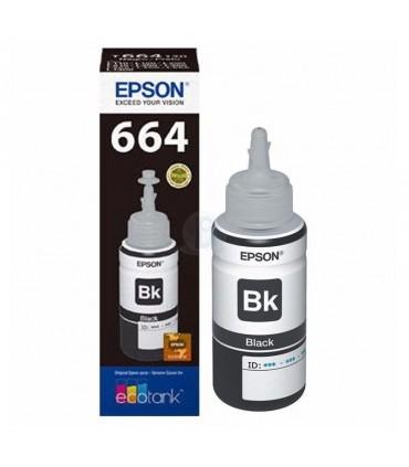Tinta Epson T664120AL 70 ml negro