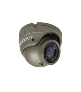 LEGEND TurboHD 720p, Eyeball HÍBRIDA (Analógico 1200TVL / HD-TVI 720p) Lente 2.8mm Gran Angular e IR intelig