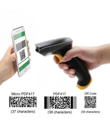 Escaner de licencias de conducir T22 lee código de barras Micro PDF417