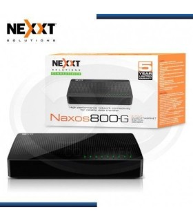Switch ASBDT084U2 Nexxt Naxos 800-G Gigabit Ethernet