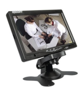"Pantalla 7"" BMG7030W LCD Portable/Mobile Monitor, Suitable in Vehicles, CCTV set up Systems Kit"