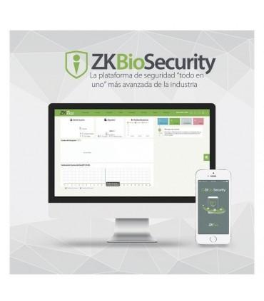 ZKBioSecurity Plataforma integral todo en uno Control de Acceso en general