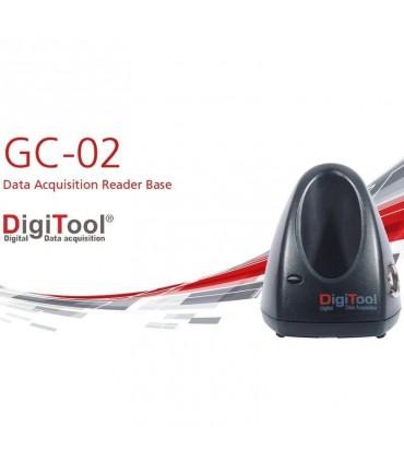 Base para Adquisición de Datos y Estación de Carga GC-02 para Lector DigiTool GC-01