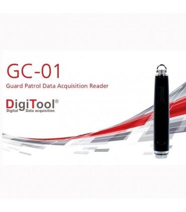 Bastón lector de rondines de tecnología de ficha de contacto GC-01