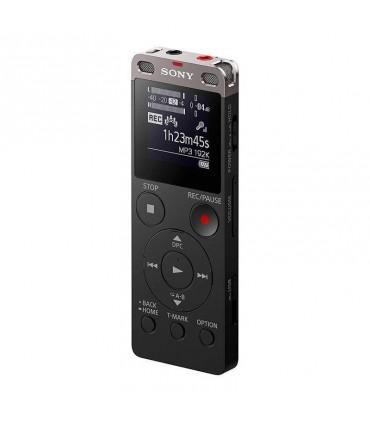 Grabadora de voz digital Sony estéreo ICDUX560BLK con USB integrado