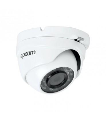 CAMARA EPCOM  DOMO TURBOHD 1080p, (lente 2.8mm), PARA  20mts E8TURBO