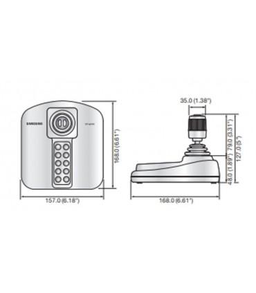 Cámara IP mini domo 2MP Audio IR(30mts) exterior - microSD DS-2CD2120F-IS