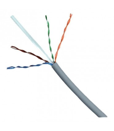 Cable UTP Cat 6 Siemon por metro Gris 9c6m4 para interior