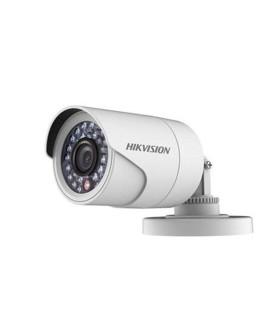 DS-2CE16C0T-IRPF Cámara tipo bala 720p plastica lente de 2.8 mm IR 20 Metros