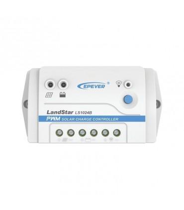 Controlador Solar de Carga y Descarga LS-1024-B, 12/24V 10A