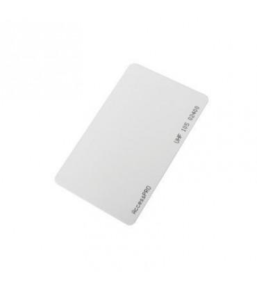 Tag UHF tipo Tarjeta para lectoras de largo alcance 900 MHZ / ISO 18000 6B  ACCESS-CARD-6B