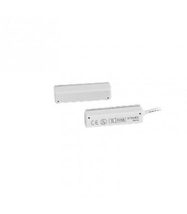 Contacto magnético para puertas y ventanas SF2060 con cable de 45 cm color blanco