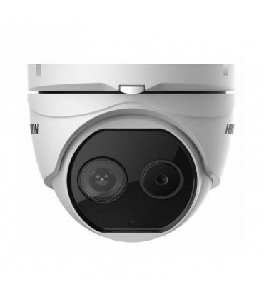 Camara tipo torreta IP DS-2TD1217B-3-PA  para Detección de Temperatura Corporal / Medición para Áreas de Alto Flujo de Personas
