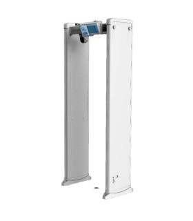ISD-SMG318LT-F Arco Detector de Metal con Medición de Temperatura Corporal Alarma por temperatura fuera de rango