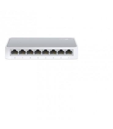 Switch TL-SF1008D de sobremesa con 8 puertos a 10/100 Mbps