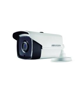 DS-2CE16D0T-IT3F Cámara tipo Bala Turbo, resolución 1080p, lente fijo, IR de 40 mts EXIR, IP67, 4 híbrido Hikvision