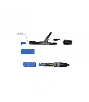 GHI-037 Conector mecánico para fibra drop SC-UPC, marca Nextlink