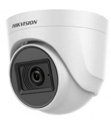 DS-2CE76D0T-ITPFS Cámara domo plastica Hikvision fija para interior con audio de 2 MP