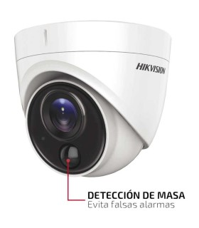 DS-2CE71D8T-PIRL Cámara Turret FLASH TURBOHD, PIR