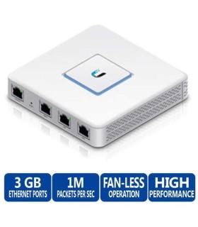 USG Router UniFi puertos Ethernet Gigabit