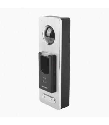 DS-K1T501SF Lector Biométrico 2 en1con función de Videoportero y lector QR Incluida Llamada a APP de Smartphone Hik-Connect P2P