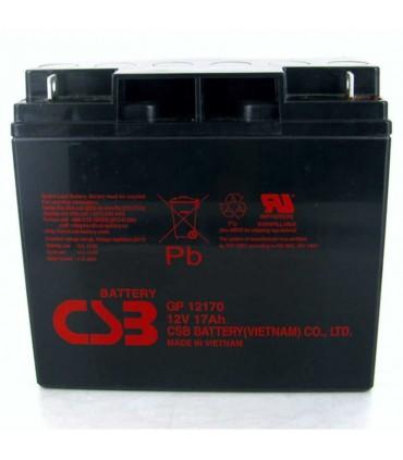 GP-12170 Batería de ácido de plomo sellada CSB 12V 17Ah