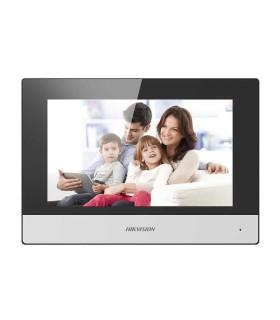 "DS-KH6320-WTE1 Monitor IP WiFi Touch Screen 7"" para Videoportero IP, PoE, Apertura Remota, Llamada Entre Monitores, Audio 2 vías"