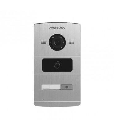 DS-KV8102-IM Frente de Calle IP 1.3 Megapíxel Lector de Tarjetas MIFARE para  Acceso Compatible con Video portero IP HIKVISION
