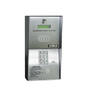 1802-082 Audio portero telefónico 600 números telefónicos Control para 2 puertas, Marcación a16 digitos Linea análoga o digital