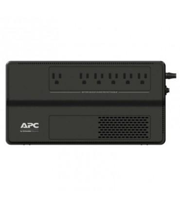 UPS APC Easy BV1000 CA 120 V, 600 vatios, 1000 VA, 6 salidas