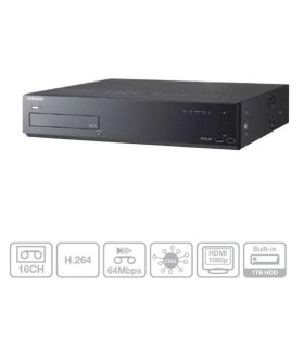 DVR Hikvision Turbo HD de 4 canales DS-7104HGHI-F1 serie Slim