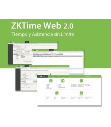 Licencia para 10 Dispositivos para software ZKTimeWEB2.0 Tiempo y asistencia ZK-TWEB-10
